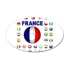 France Football Wall Decal