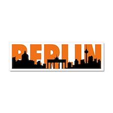 BERLIN SKYLINE Car Magnet 10 x 3