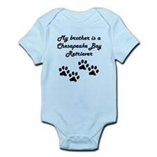 My Brother Is A Chesapeake Bay Retriever Body Suit