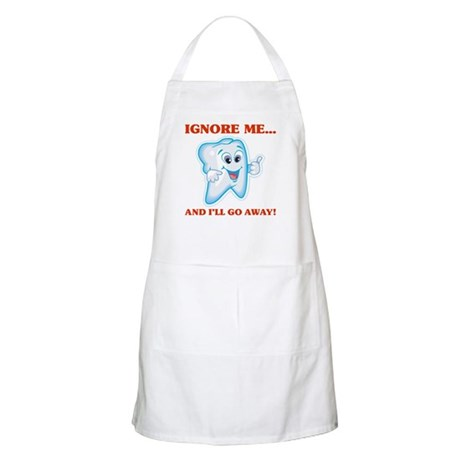 Cavities Dentist BBQ Apron