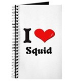 I love squid Journal