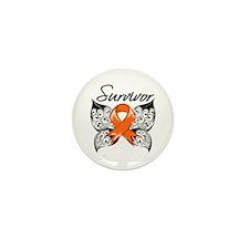 Skin Cancer Survivor Mini Button (10 pack)