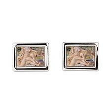 Renoir Les Grandes Baigneuse Rectangular Cufflinks