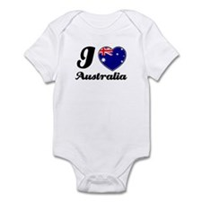 I love Australia Infant Bodysuit