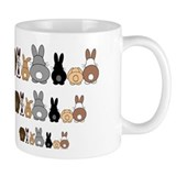 Receding Hare Line Mug