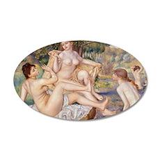 Renoir Les Grandes Baigneuses Decal Wall Sticker