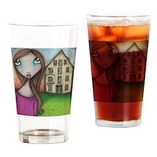 Hometown Girl Drinking Glass