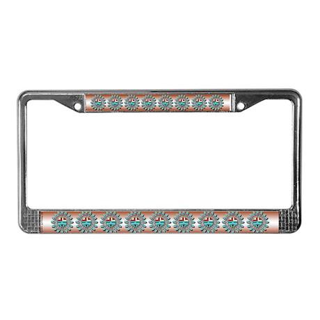 Hopi Sunface License Plate Frame