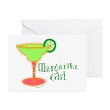 Margarita Girl Greeting Cards (Pk of 10)