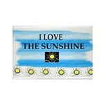 I LOVE THE SUNSHINE Rectangle Magnet (10 pack)