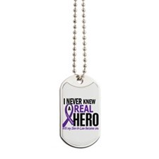 Cystic Fibrosis Real Hero 2 Dog Tags