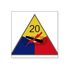 "Cute Army divisions Square Sticker 3"" x 3"""