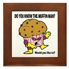 The Muffin Man Framed Tile