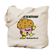 The Muffin Man Tote Bag