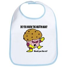 The Muffin Man Bib