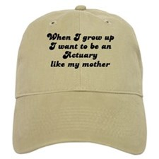 Actuary like my mother Cap