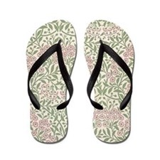 William Morris Michaelmas Daisy Flip Flops