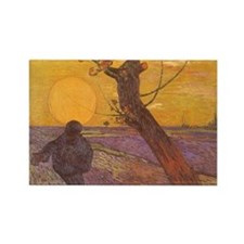 Cute Impressionism Rectangle Magnet