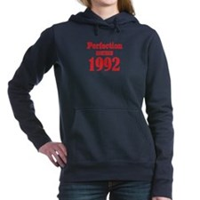 Perfection since 1992 Women's Hooded Sweatshirt