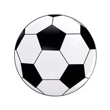 "Soccer 3.5"" Button (100 Pack)"