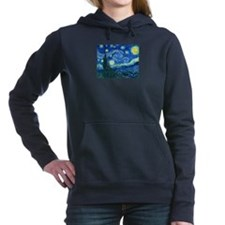 van gogh starry night Women's Hooded Sweatshirt
