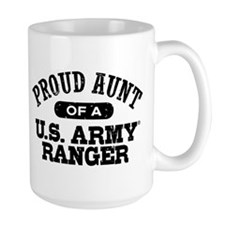 Army Ranger Aunt Coffee Mug