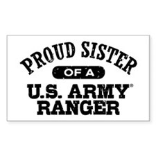 Army Ranger Sister Decal