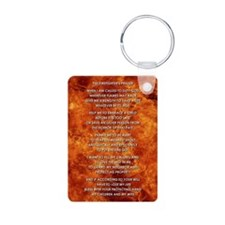 THE FIREFIGHTER'S PRAYER Keychains