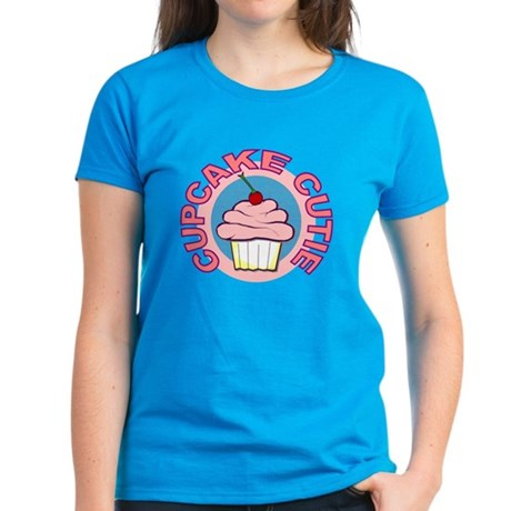 Cupcake Cutie t-shirt Women's Dark T-Shirt