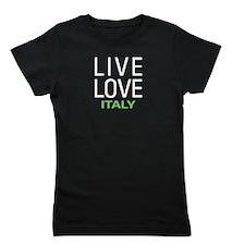 Live Love Italy Girl's Tee