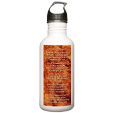 THE FIREFIGHTER'S PRAY Water Bottle