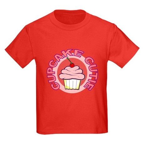 Cupcake Cutie Kids Dark T-Shirt