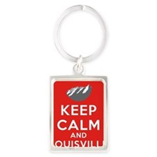 Louisville Yellow Portrait Keychain