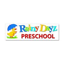 Rainy Dayz Logo Car Magnet 10 X 3