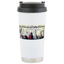 Funny Michigan lakes Travel Mug