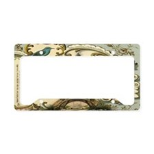 victorian blue butterfly  par License Plate Holder