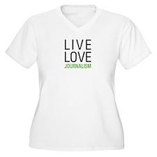 Live Love Journal T-Shirt