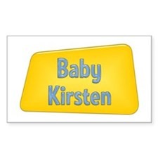 Baby Kirsten Rectangle Decal