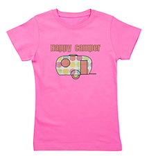 Happy Camper (Pinks) Girl's Tee