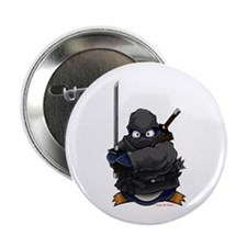 "Ninja Penguin 2.25"" Button (100 pack)"