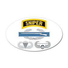 Sniper CIB Airborne Air Assa Wall Decal