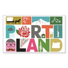 Unique Portland - Block by Blo Decal