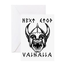 Unique Valhalla Greeting Card