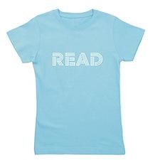 Read Girl's Tee
