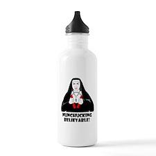 NUNCHUCKING BELIEVABLE Water Bottle