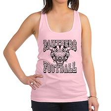 Panthers Football Racerback Tank Top