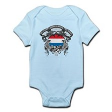 Netherlands Soccer Infant Bodysuit