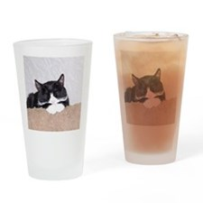 Sweet Kitty Drinking Glass
