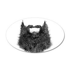 Big Beard Wall Decal