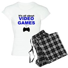 Its All About Video Games Pajamas